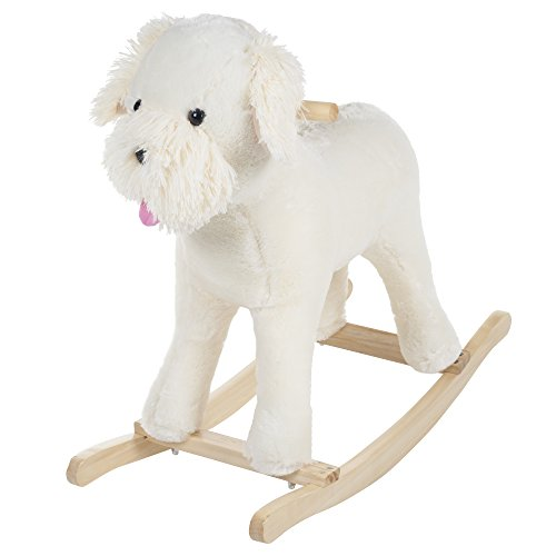 - Happy Trails Rocking Sherman Schnoodle Dog Ride On