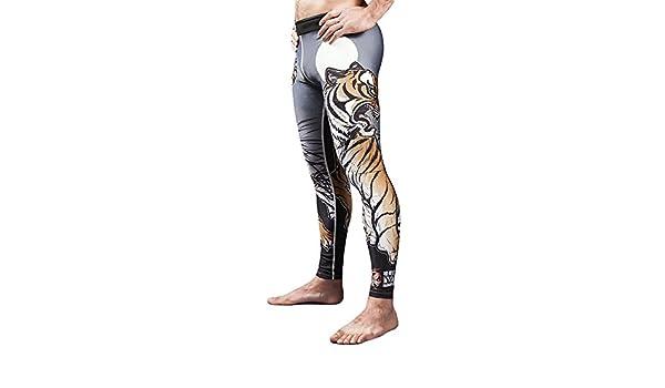 62e0224aa4371 Meerkatsu Midnight Tiger Grappling Spats-Medium, Martial Arts - Amazon  Canada