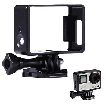 Donkeyphone - Soporte Marco Carcasa Funda Simple Montaje Protector Compatible con GOPRO Hero 3/3+ / 4 (Todos LOS Modelos Black, Silver Y White)