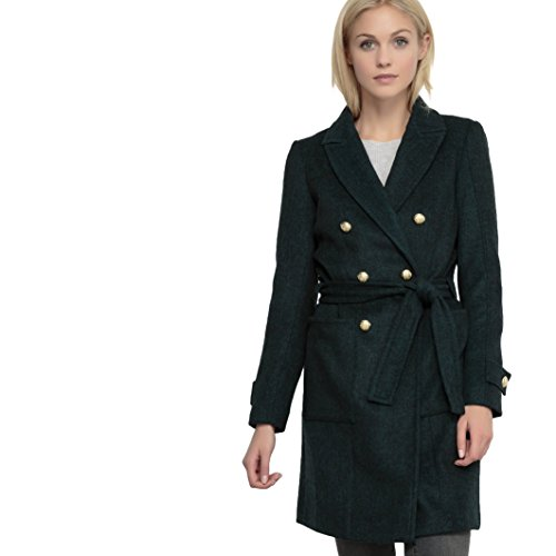 tom-tailor-womens-coat-solid-twill-coat-green-size-us-6-fr-36