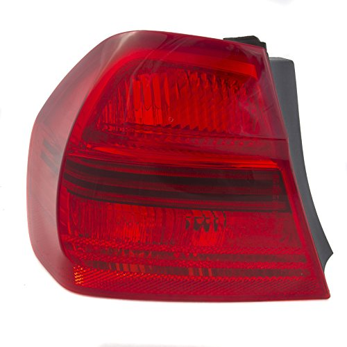 CarPartsDepot Fit 2006-2008 BMW E90 Sedan Rear Facial Tail Brake Light Lamp Driver BM2800119