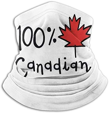 100% Canadian ネックガード 吸汗速乾 バンダナ 花粉症対策 フェイスガード 多機能 スポーツ ターバン