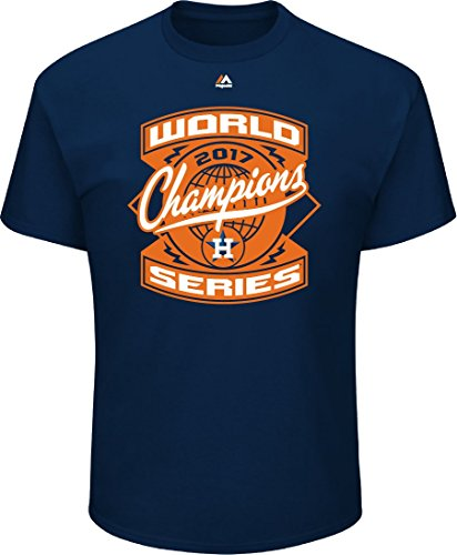 Outerstuff Houston Astros Youth 2017 World Series Best Roster T-Shirt Navy (Youth Large 14/16)