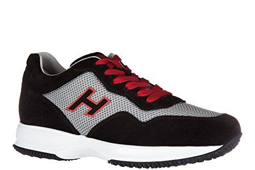 Hogan zapatos zapatillas de deporte hombres en ante nuevo interactive h flock ne
