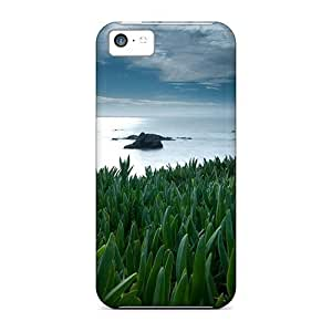 Diycase Anti-scratch case cover Dan Larkins protective Flowers To b4Q9cBy9Erq The Sea case cover For Iphone 5c