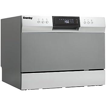 Amazon Com Danby Ddw611wled Countertop Dishwasher White