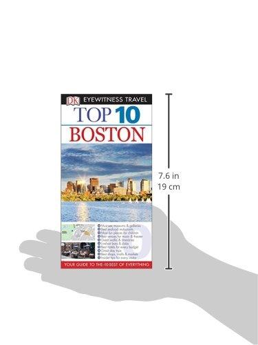 Top 10 Boston (Eyewitness Top 10 Travel Guide)