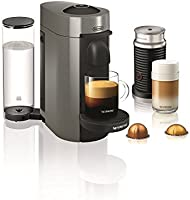 Save on Nespresso VertuoPlus with Aeroccino by De'Longhi
