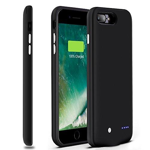 iphone 7 plus battery case sgrice ultra slim in lightweight portable charger. Black Bedroom Furniture Sets. Home Design Ideas