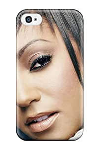 Durable Defender Case For Iphone 4/4s Tpu Cover(melanie Brown Spice Girls People Women)