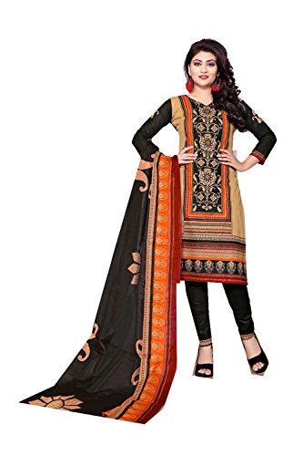 Da Facioun Femmes Indiennes Concepteur Partywear Ethnique Traditionelles De Salwar Kameez Beige.