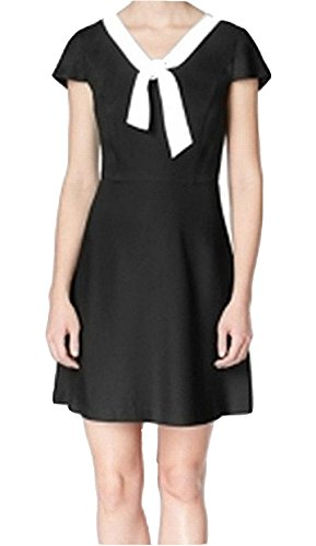 kensie tie neck dress - 1