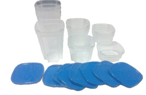 Extra Containers and Lids for Smart Spin Storage (Carousel Storage Container compare prices)