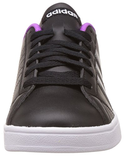 Vs Femme core Sneakers Adidas White Noir Advantage Black Silver matt ftwr Basses TwROxqf7
