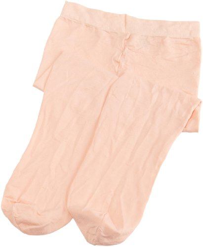 Danskin Little Girls' Student Footed Tight,Ballet Pink,S (4/6)