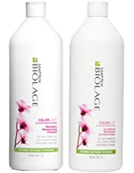 Biolage ColorLast Shampoo and Conditioner Liter Duo,...