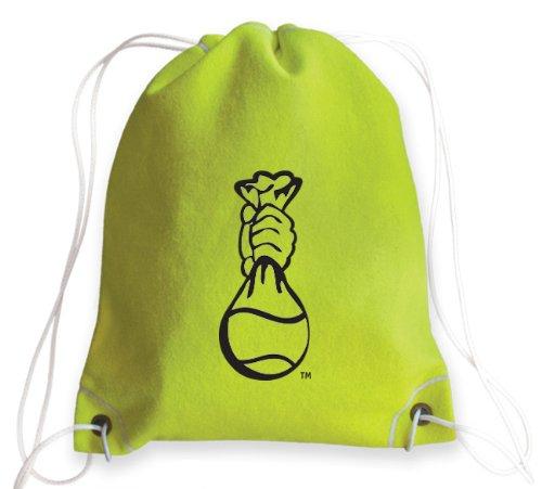 zumer-sport-drawstring-bag-tennis-yellow-one-size
