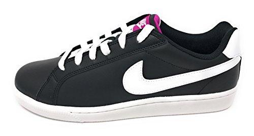 Nike Dunk Shoes - nike womens court majestic running trainers 454256 sneakers shoes (US 8, black white fuschia flash 017)