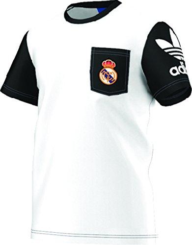 Adidas Mens Originals Real Madrid Pocket T-Shirt