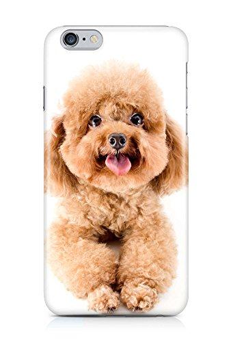 COVER Hund Pudel Welpe Design Handy Hülle Case 3D-Druck Top-Qualität kratzfest Apple iPhone 6 Plus
