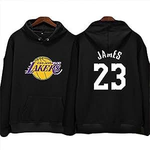 Shocly Sudadera Lakers De Los Angeles James Kobe Bryant Baloncesto Club Round Cuello Manga Larga para