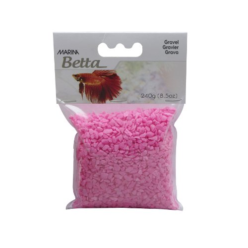 Marina Betta Kit Decorative Gravel, Pink