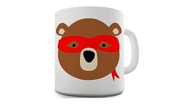 Amazon.com: Funny Mug Ninja Bear By Twisted Envy 15 OZ ...