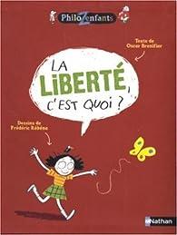 La liberté, c'est quoi ? par Oscar Brenifier