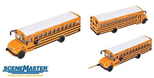 Bus International School - Walthers SceneMaster International CE School Bus