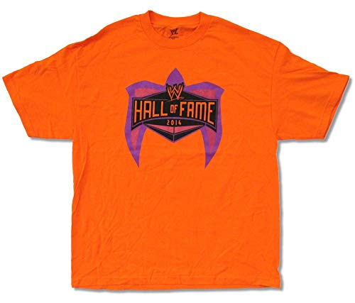Wrestling Hall of Fame 2014 Ultimate Warrior Orange T Shirt (M)