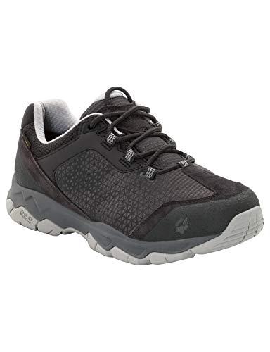 Jack Wolfskin Rock Hunter Texapore Low Women's Waterproof Hiking Shoe, Phantom US 9.5 D US