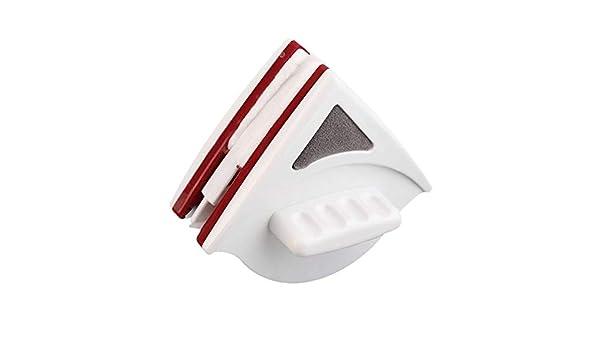 Conveniencia Limpiador de Vidrio Ajustable de Doble Cara Ventana magnética Adecuado para Herramientas de Limpieza de Vidrio Hueco de Doble Capa de 15-22 mm Cloverclover: Amazon.es: Hogar