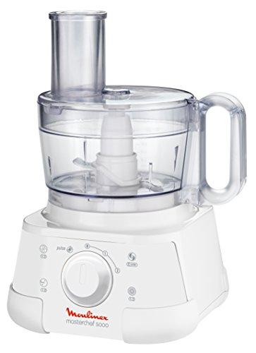 Moulinex FP5111 Kompakt-Küchenmaschine Masterchef 5000, weiß