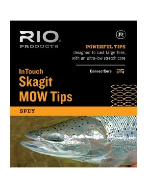 (RIO Fly Fishing InTouch Skagit MOW, Light Tips Kit, White/Black)