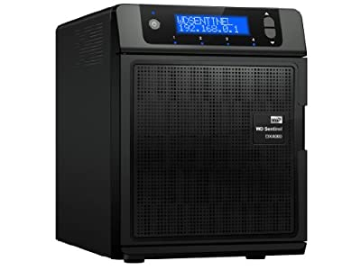 WD 4TB WD Sentinel DX4000 Small Business Network File Storage Server iSCSI NAS