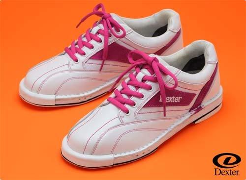 (デクスター) ボウリングシューズ Ds240 ホワイトピンク 【ボウリング用品】 B00X2ITCYM 21.5cm(左右兼用) ホワイトピンク