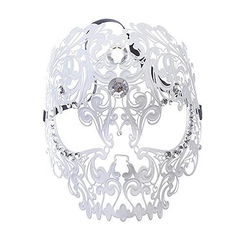 Fly Diamond Ball Half Face Mask Tiger Head