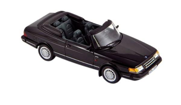 Norev 1/43 Saab 900 Cabrio Turbo 1991 negro: Amazon.es: Juguetes y juegos