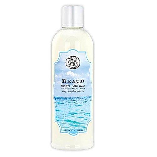 Michel Design Works Moisturizing Shea Butter Shower Body Wash, Beach,