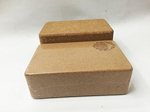 Aodicon Yoga Blocks EVA Yoga Cork Block Brick Foam Home Practice Fitness Gym Exercise Sport Tool by Aodicon