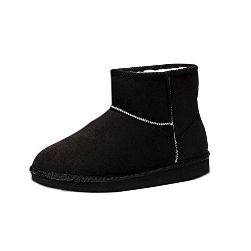 Chaudes Boots Classic Chaussures Footwear Femme Mini Hiver Snow Chaud Bottines Flats Minetom Z1Eqv