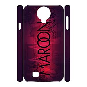 C-EUR Cell phone case Maroon 5 Hard 3D Case For Samsung Galaxy S4 i9500