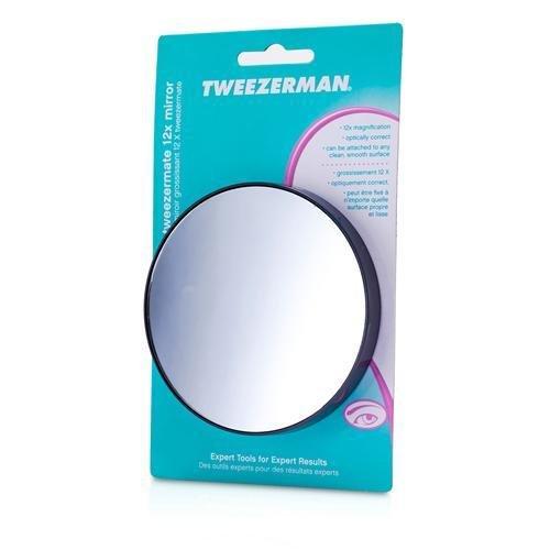 Tweezerman by Tweezerman - WOMEN - TweezerMate - 12X Magnification Personal Mirror ---