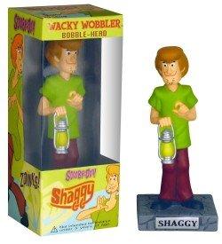 Wacky Wobblers Scooby Doo Shaggy Bobble Head by Funko - Scooby Doo Wacky Wobbler