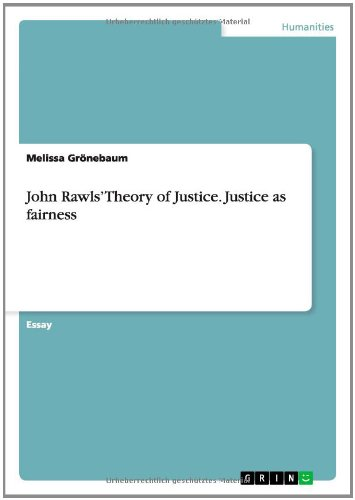 "john rawls theory of justice summary essays John rawls ethical theory essay regarded as a prominent philosopher john rawls in rawls' theory that often calls ""justice as fairness"" and its."
