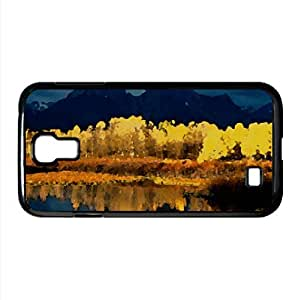 Mountain Lake 38 Watercolor style Cover Samsung Galaxy S4 I9500 Case (Mountains Watercolor style Cover Samsung Galaxy S4 I9500 Case)