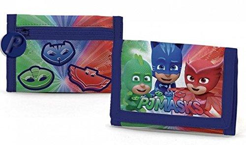PJ Masks Héroes En Pijamas A95766 Billetera, 13 Centímetros, Multicolor, Gatuno, Buhíta, Gekko