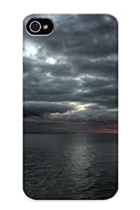 Fireingrass High Quality Cloudy Sea Case For Iphone 4/4s / Perfect Case For Lovers