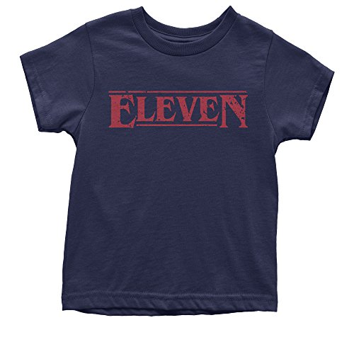 Expression Tees Youth Eleven T-Shirt Medium Navy Blue (T-shirt Medium Youth Only)