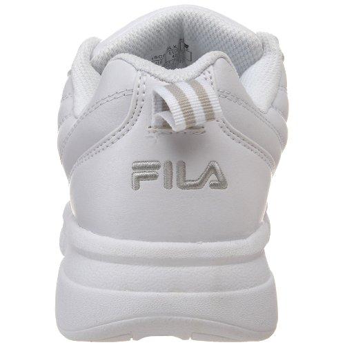 Exchange Sneaker Fila 2k white Silver metallic White Men's wRtt54xqO